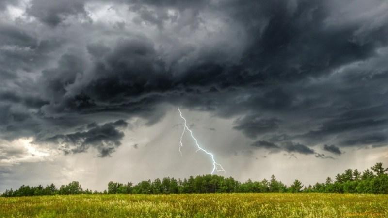 Завтра на Брянск обрушится ливень с грозой