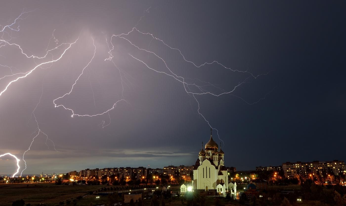 В Брянской области 15 апреля прогнозируют дождь и грозу