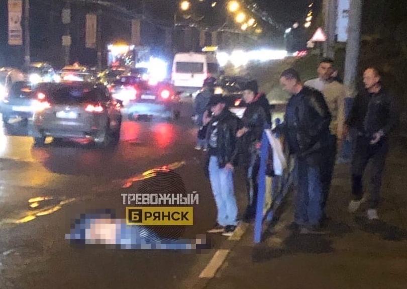 Вечером в Брянске сбили мужчину неожиданно оказавшегося на проезжей части