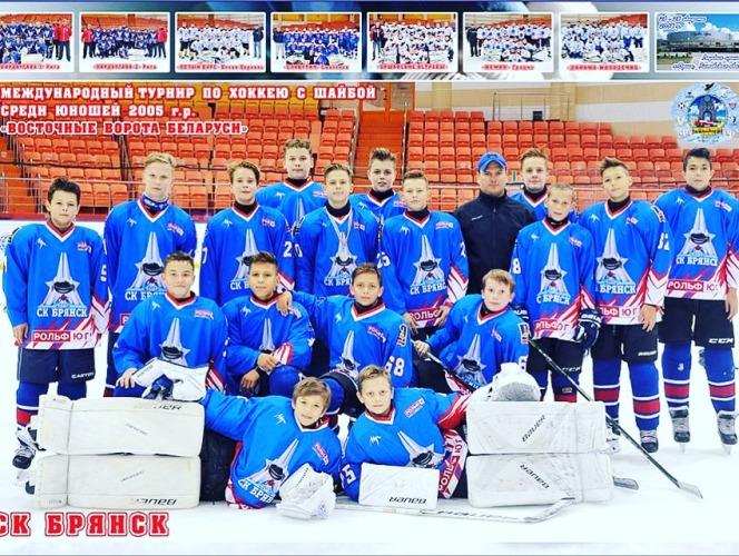 Юные брянские хоккеисты заняли первое место на турнире в Беларуси