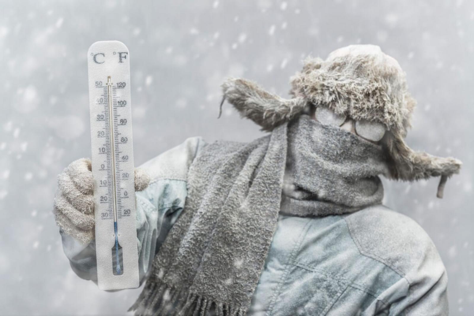 Жителей Брянской области МЧС предупреждает об аномально холодной погоде