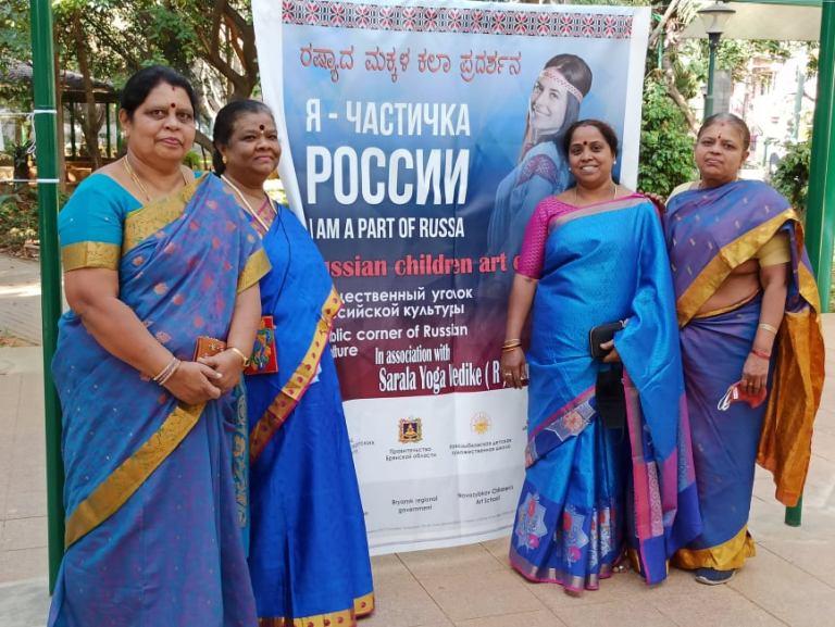 В Индии начала работу выставка рисунков ребят из брянского Новозыбкова