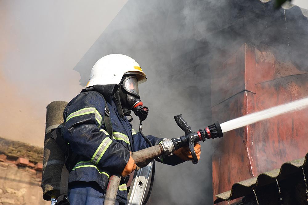При пожаре в Сельцо погибли мужчина и женщина