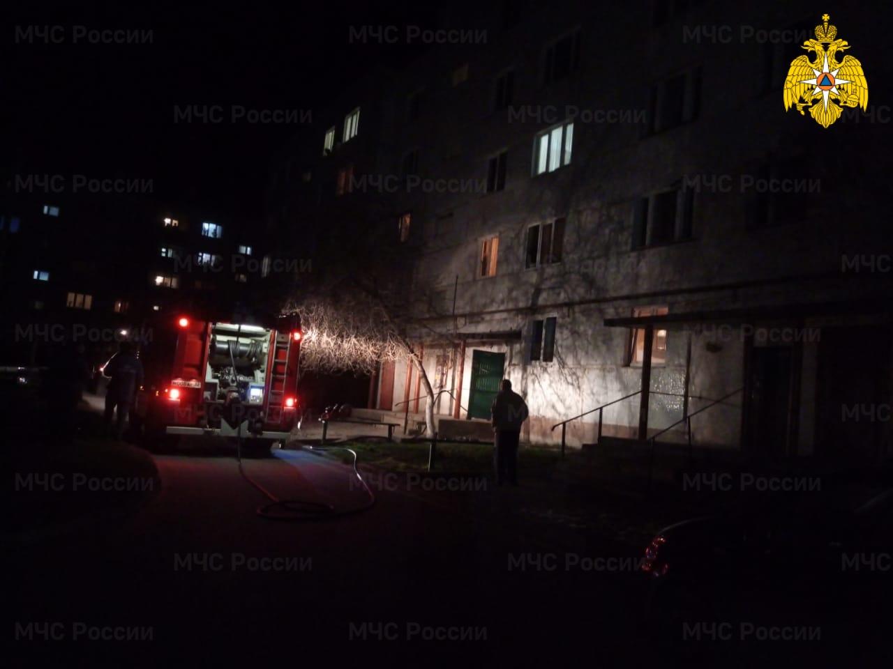 В Клинцах произошел пожар еще в одной многоэтажке
