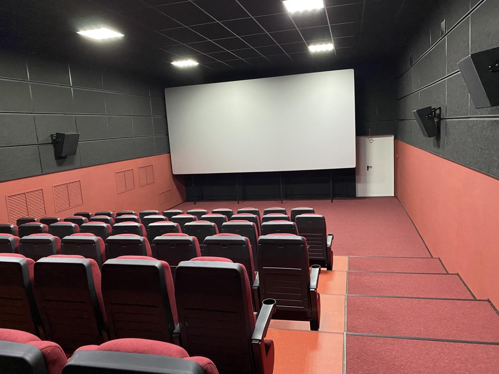 В Новозыбкове в обновленном кинотеатре прошли первые сеансы