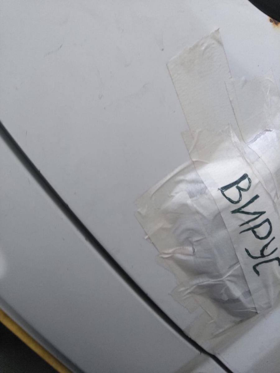 В Брянске напуганный коронавирусом маршрутчик не пускает людей на переднее сиденье
