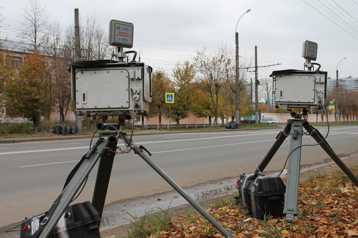 На проспекте Станке Димитрова в Брянске установили дорожную камеру