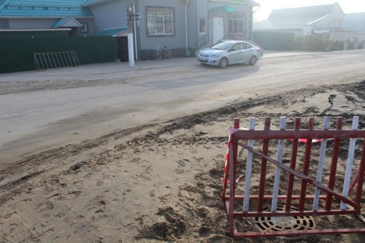 В Жуковке построили ливневую канализацию
