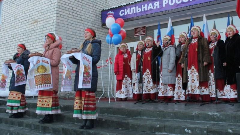 В Карачевском районе открыли обновленный Дом культуры