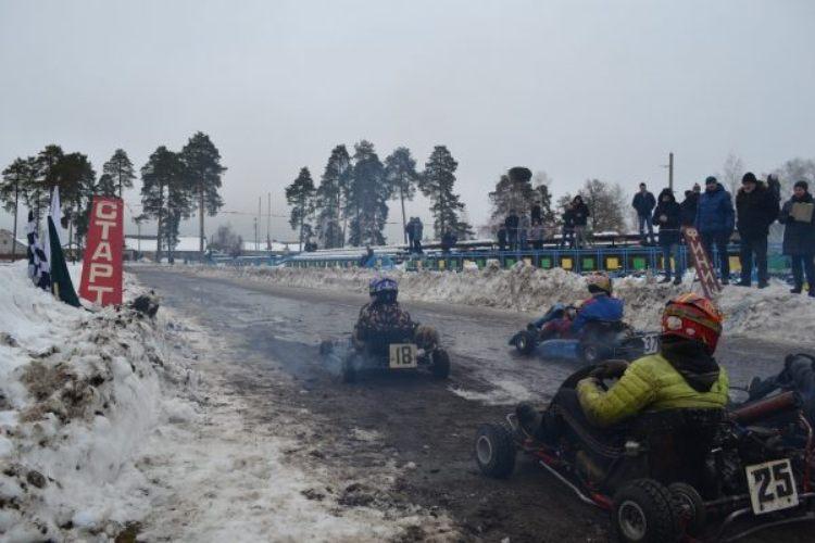 В Жуковке прошли межрайонные соревнования по картингу