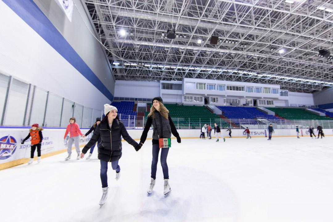 В День студента в Брянске можно будет бесплатно покататься на коньках