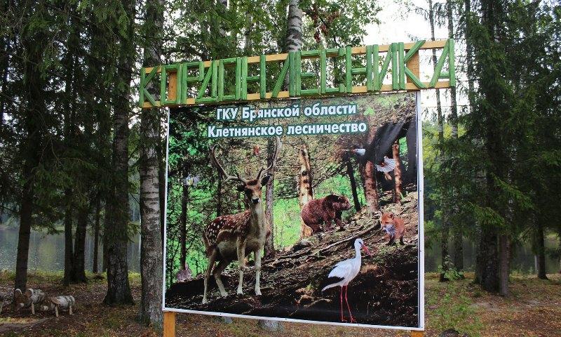 В Клетнянском районе открыли кордон лесника