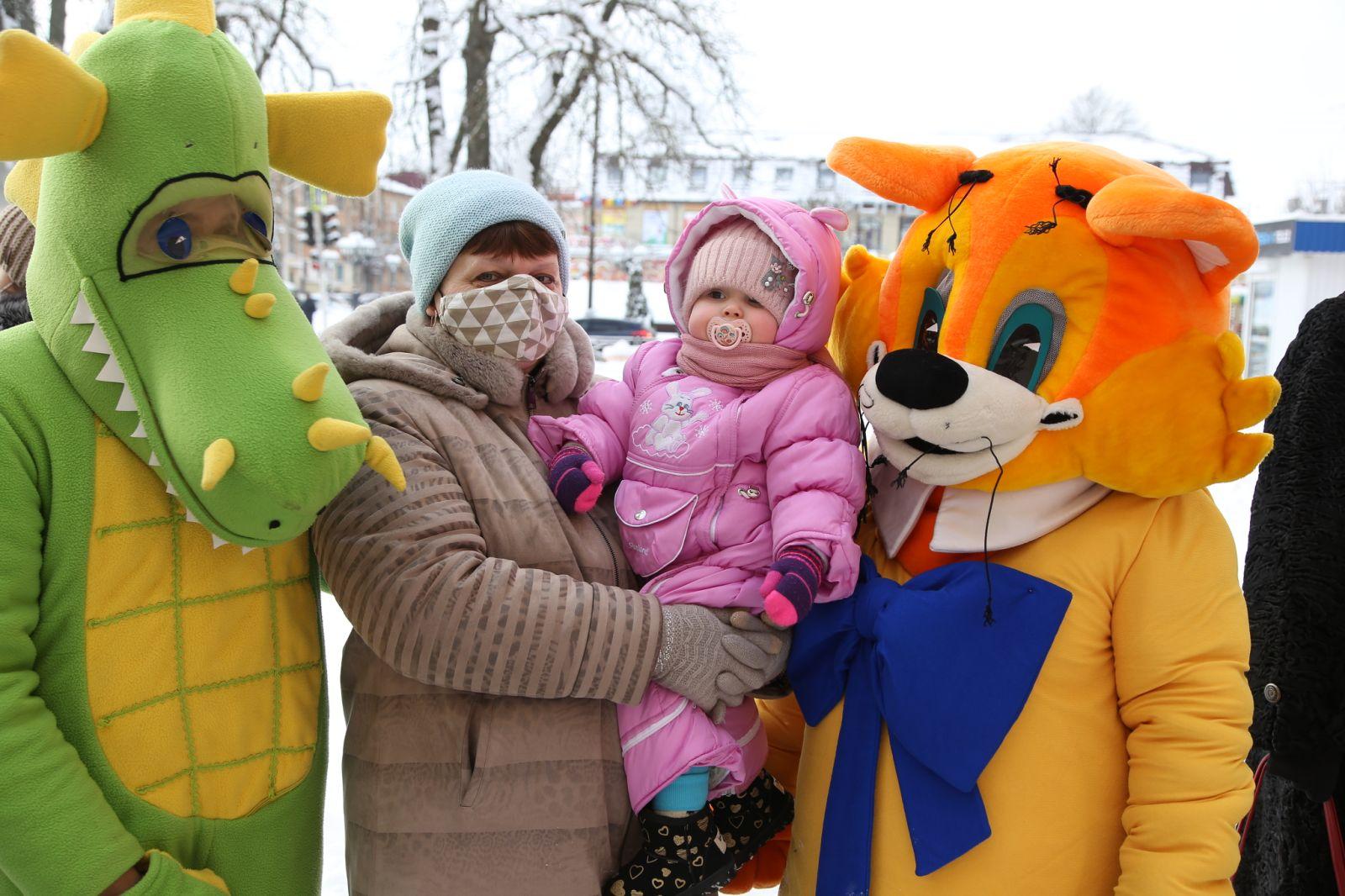 Зимняя неделя добра прошла в Клинцах Брянской области