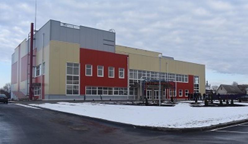 В Сураже в конце декабря появится физкультурно-оздоровительный комплекс