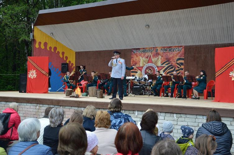 В Брянске состоялся театрализованный концерт