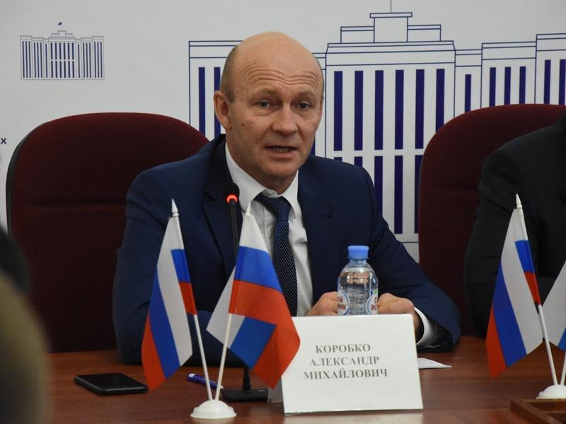 Заместитель брянского губернатора Александр Коробко заявил об отставке 15 февраля