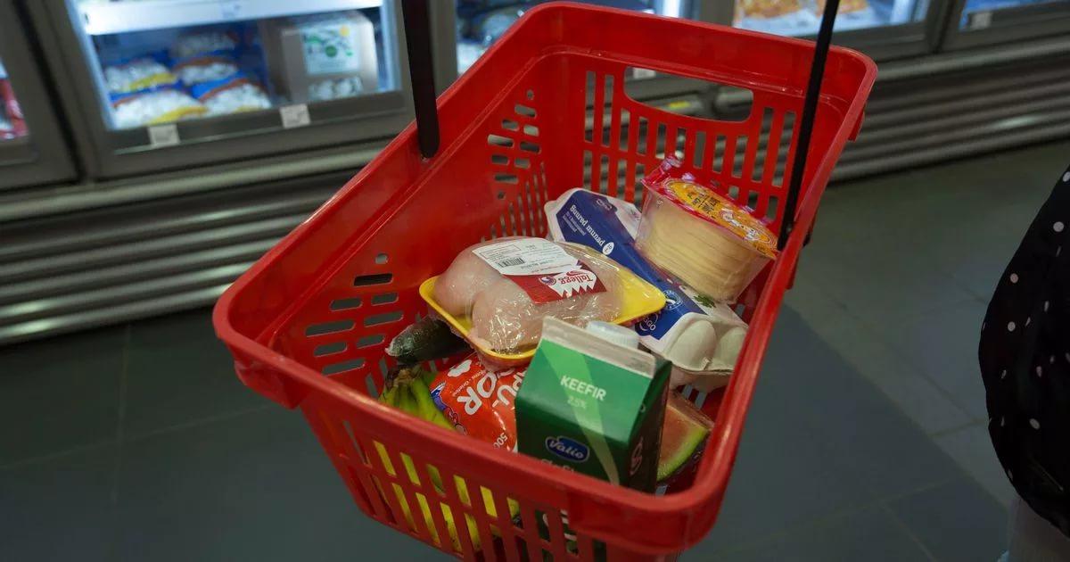Стоимость продуктовой корзины в Брянской области увеличилась