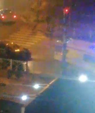 На Крахмалева сбили пешехода