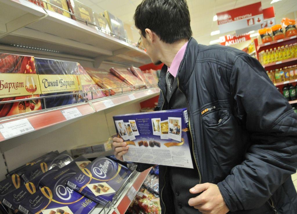 Житель Брянска украл из магазина кофе и шоколад