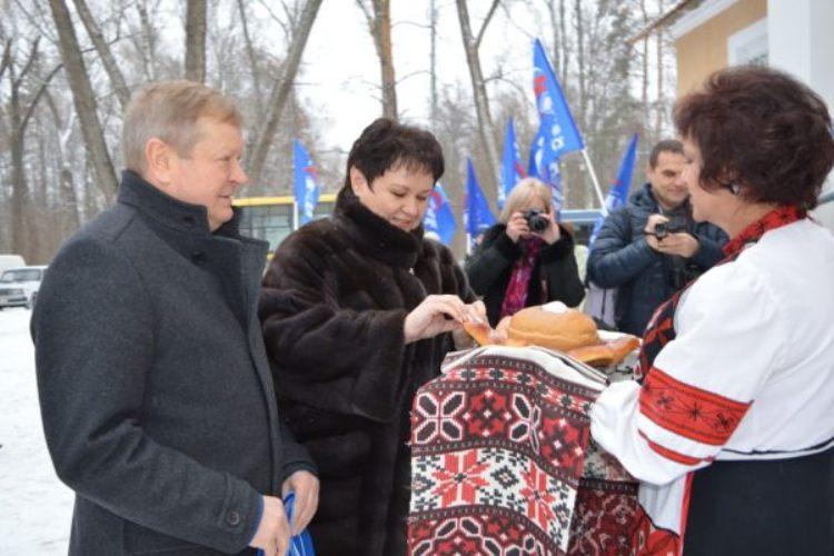 В Новозыбковском районе открылся обновленный дом культуры