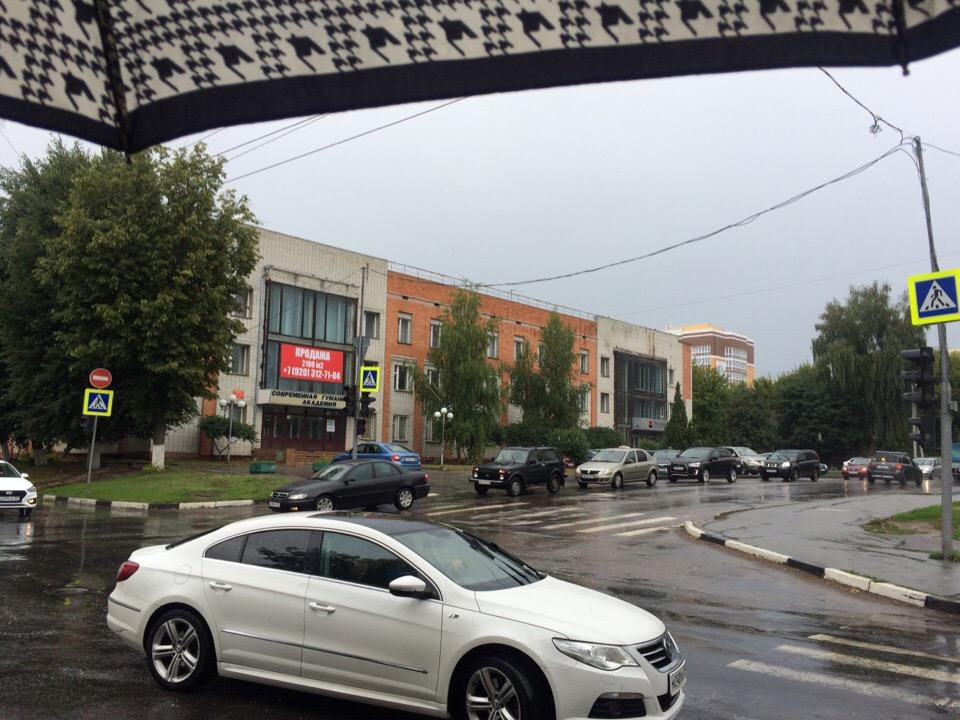 В Брянске на улице Фокина перестали работать светофоры
