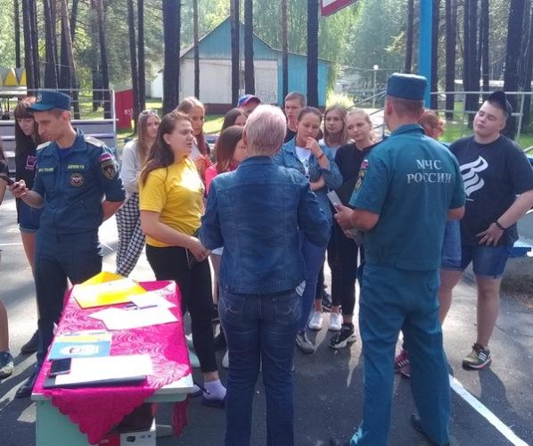 В брянском лагере «Искорка» прошел фестиваль «Счастливое детство»