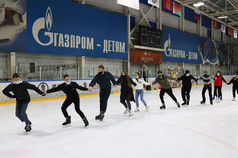 Брянские студенты отпраздновали Татьянин день на льду