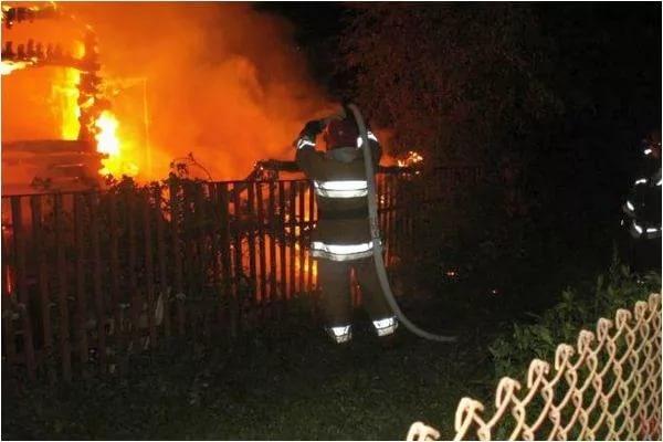 В Стародубском районе сгорел жилой дом