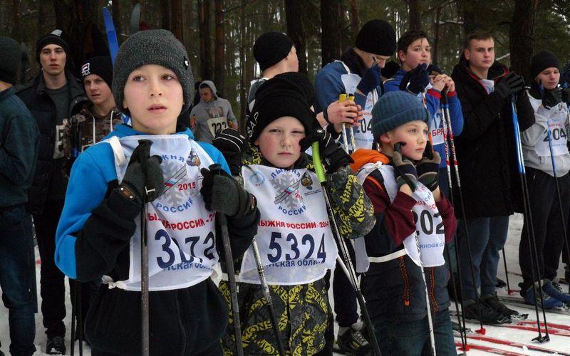 В Клинцах прошла лыжная гонка «Лыжня России-2019»