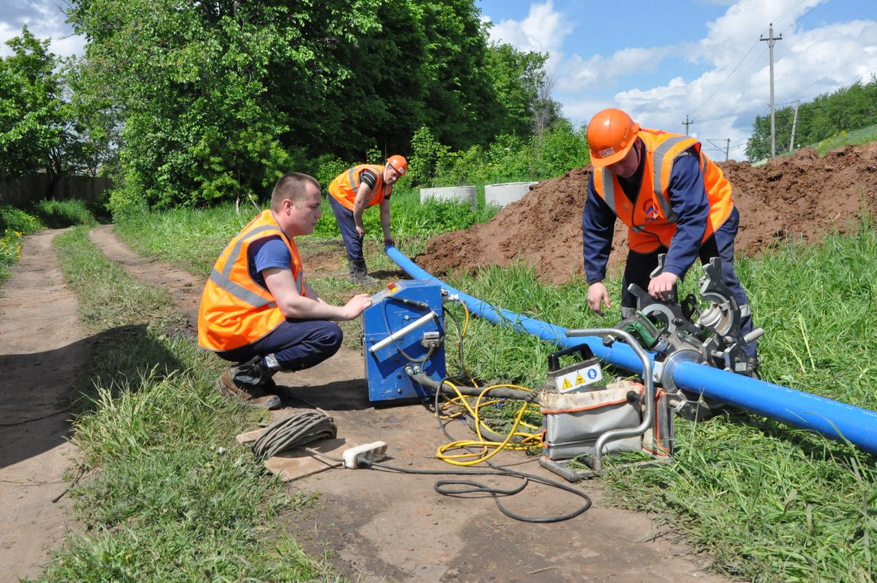 В брянском поселке Локоть обновят 7 км водопроводных сетей