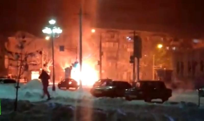 В Магнитогорске взорвалась маршрутка: трое погибших