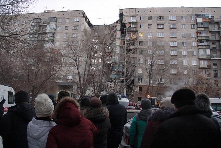 В Магнитогорске обрушилась многоэтажка: четверо погибших, 50 человек под завалами