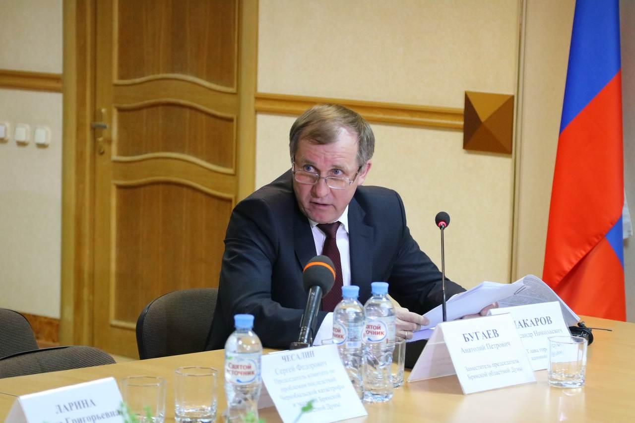 2 февраля отмечает день рождения мэр Брянска Александр Макаров