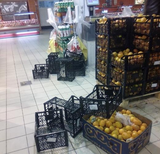 У брянцев вызвали ужас мандарины в магазинах