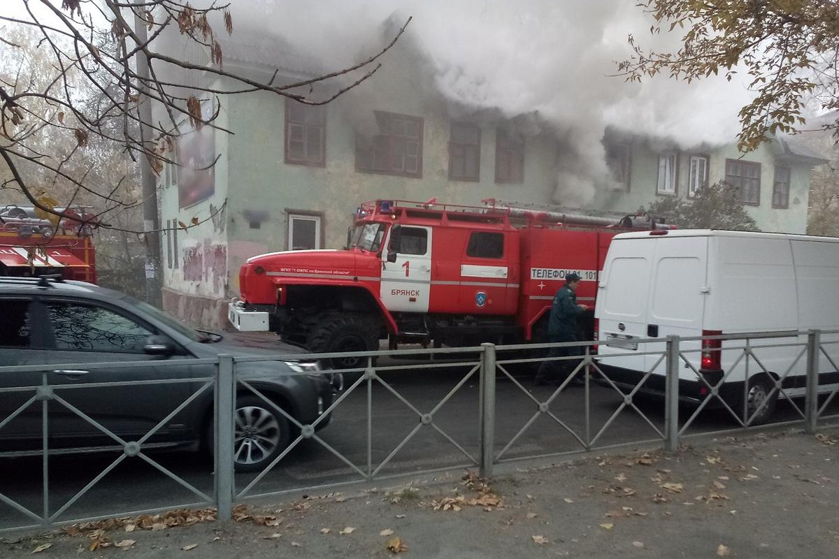 На новогодних праздниках в Брянской области погибли 2 человека в пожарах
