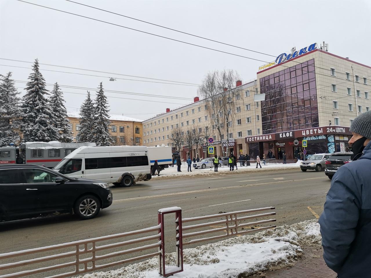 Незаконной акцией жители Брянска не заинтересовались