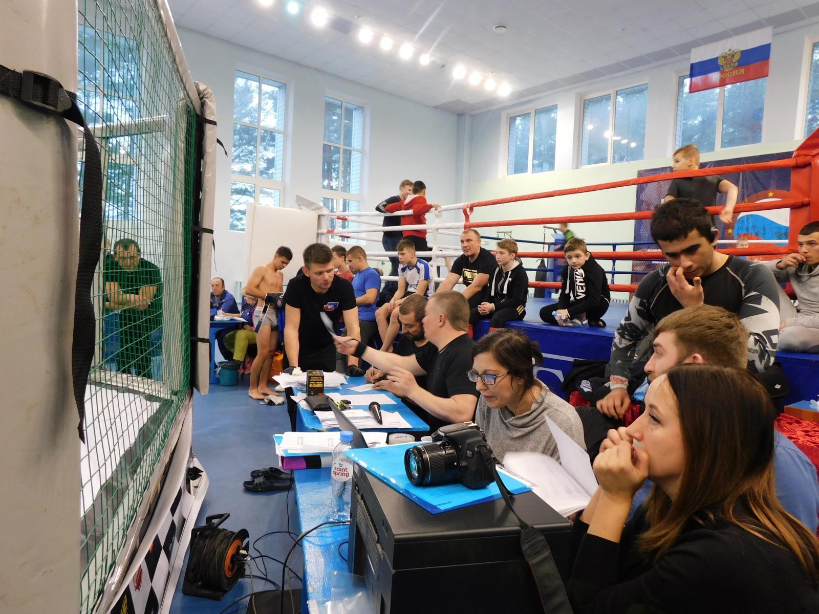 В Фокино прошел седьмой открытый чемпионат области поММА