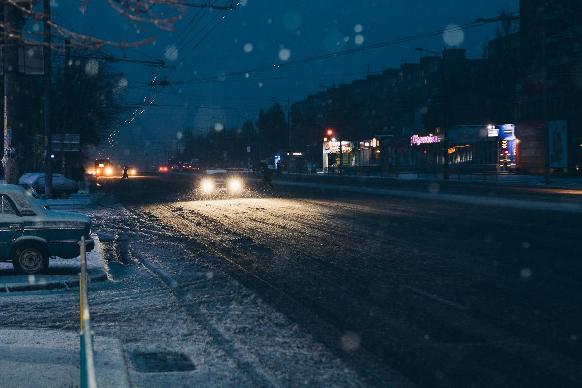 В Брянской области 21 февраля ожидается мокрый снег и гололёд