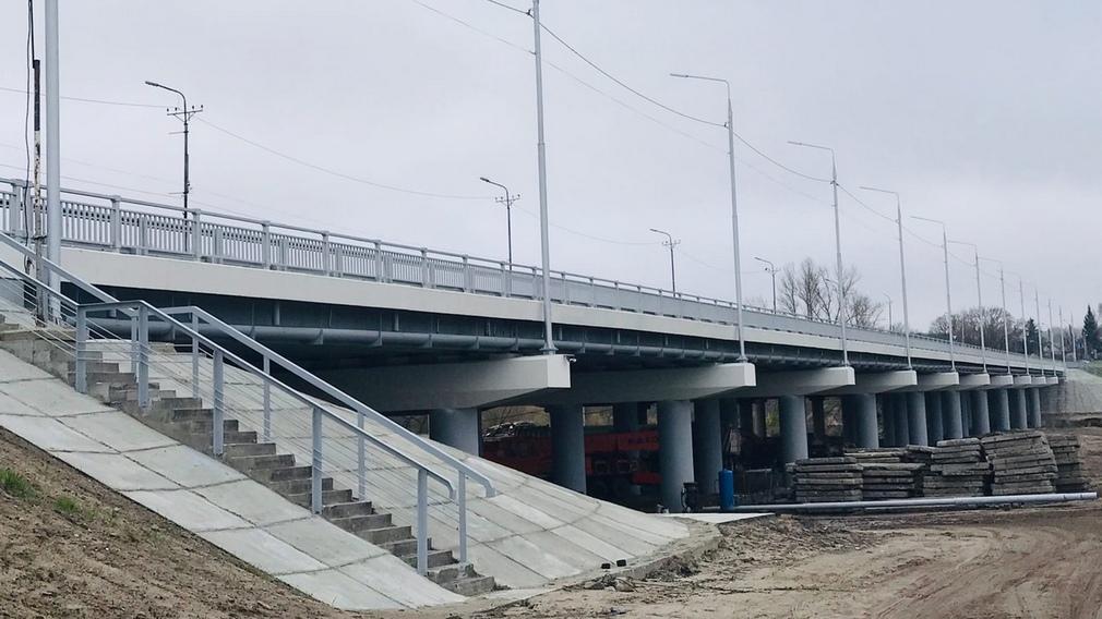 Реконструкцию Литейного моста в Брянске завершат в 2021 году