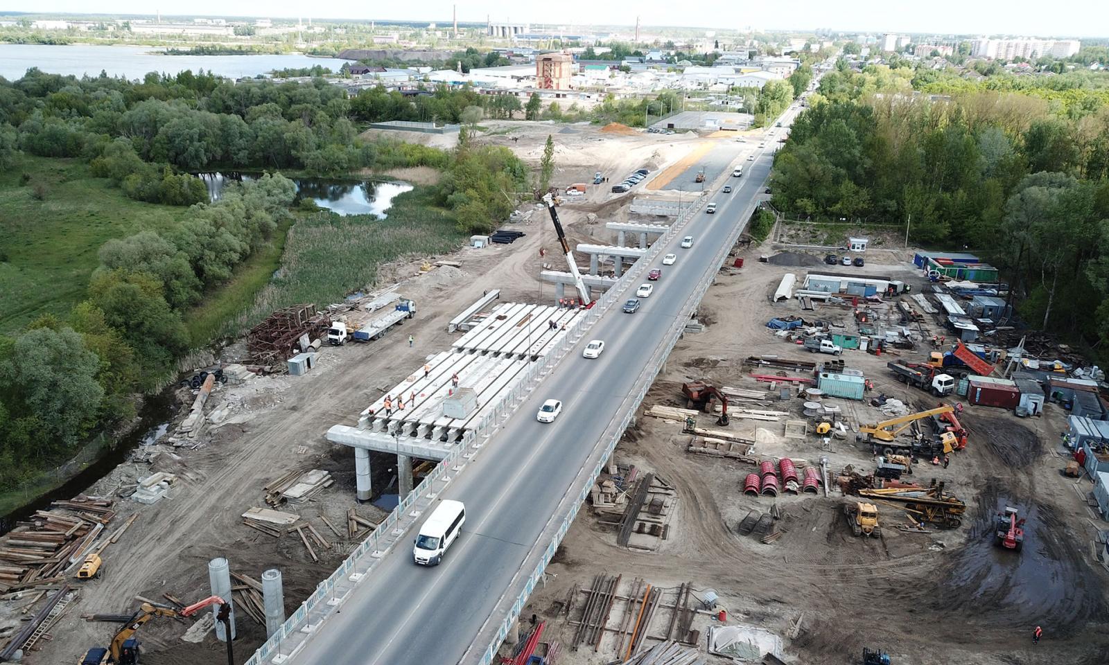О досрочном строительстве Литейного моста в Брянске шла речь на совещании с Путиным