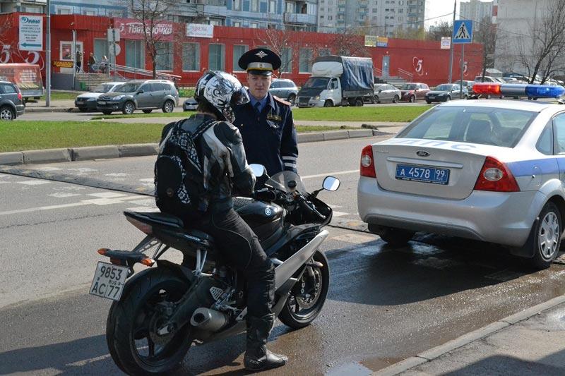 В Брянской области в 2020 году оштрафовали более 5 тысяч мотоциклистов