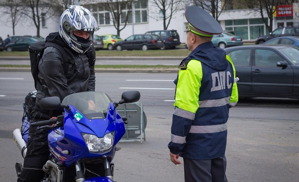 В Брянске сотрудники ГИБДД откроют охоту на мотоциклистов-нарушителей