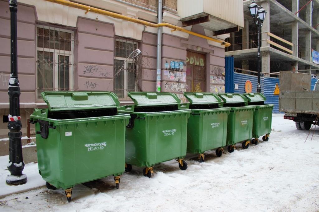 На новогодних праздниках вывозить мусор в Брянске будут в усиленном режиме