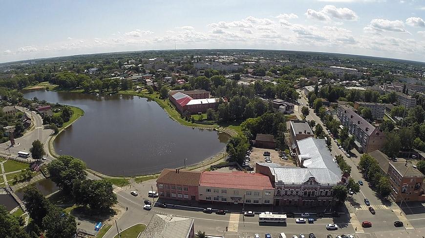 Строительство супермаркета в Новозыбкове рассорило местных жителей