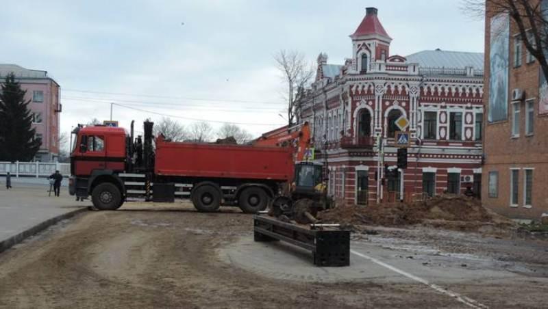 В Новозыбкове ремонтируют Дом детского творчества