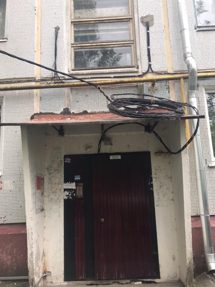 В Брянске жители дома по улице Пушкина остались без электричества после ремонта