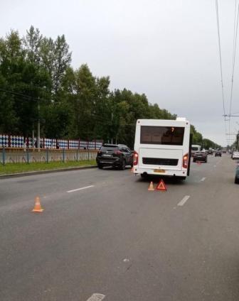 В тройном ДТП в Брянске пострадал пассажир автобуса