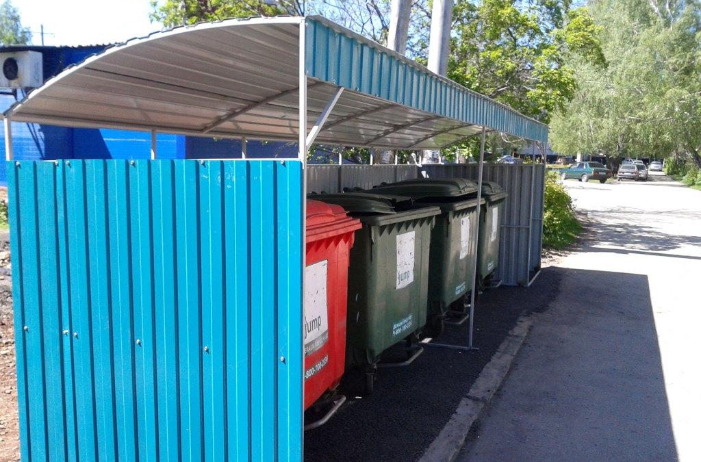 366 контейнерных площадок обустроят в Брянске