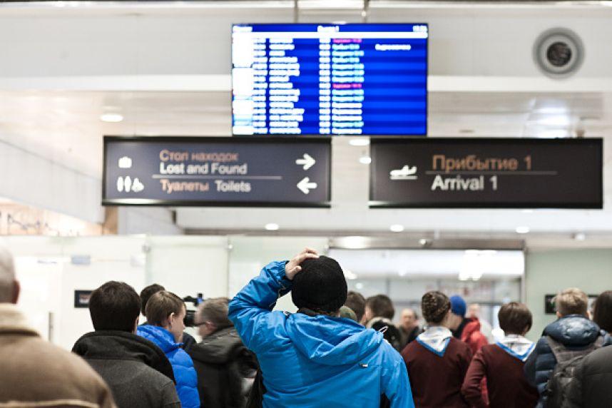 В «Пулково» отменили сегодня несколько рейсов, один из них в Брянск