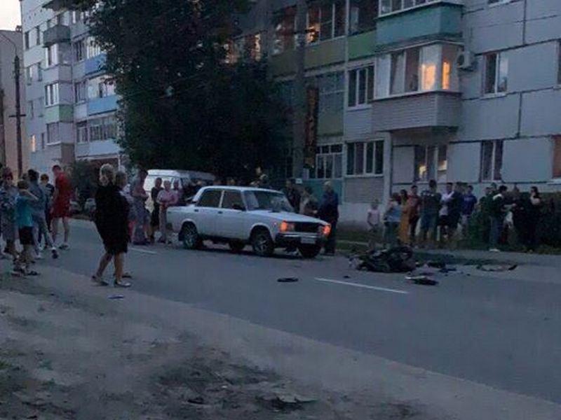 Жуткое ДТП в Новозыбкове: тяжело ранен 16-летний мотоциклист